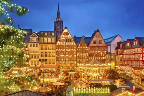 Ярмарок в канун Рождества - Германия, Нюрнберг