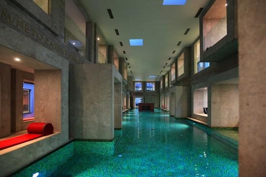 Современная итальянская баня