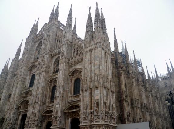Милан - Храм Дуомо