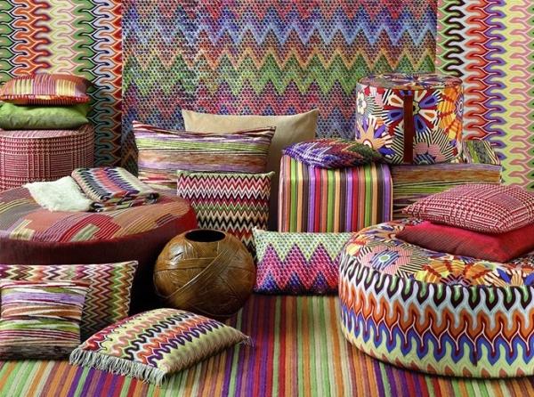 Missoni Номе известный на весь мир итальянский бренд, выпускающий декоративный текстиль для дома и аксессуары