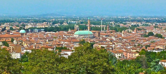 Город Виченца, в итальянской области Венеция