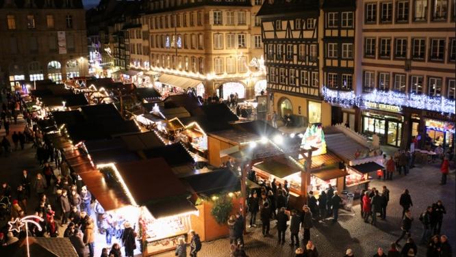 Ярмарок в канун Рождества - Франция, Страсбург