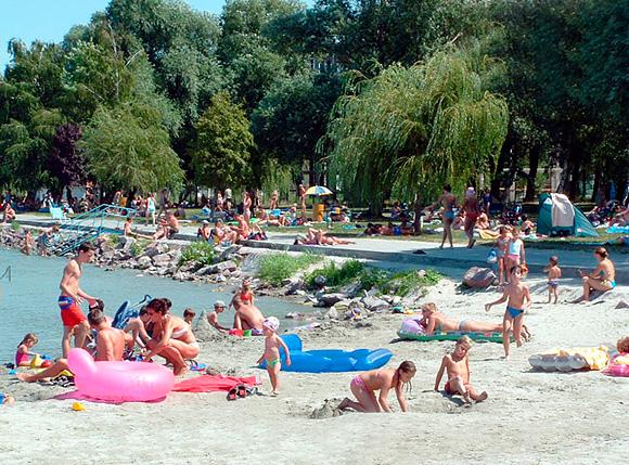 Озеро Балатон. Самое крупное в Венгрии и одно из самых больших озер Европы