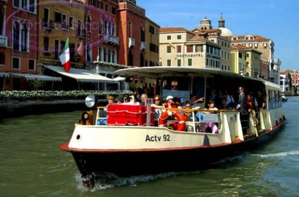 Венеция - Речной трамвай