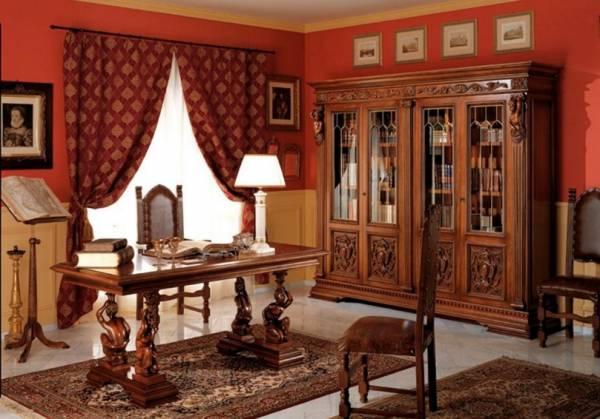 Разновидности итальянской мебели довольно обширны