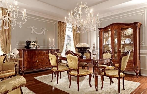 Настоящая итальянская мебель для гостиной