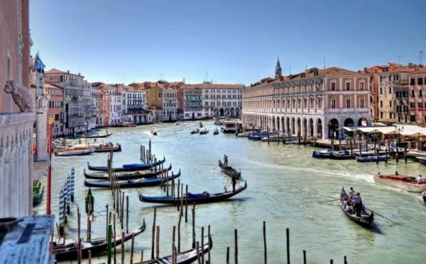 Гранд-канал-Венеция