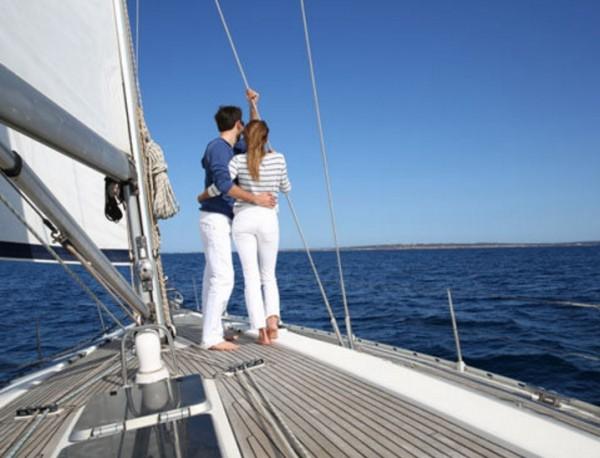 маленькое путешествие на яхте