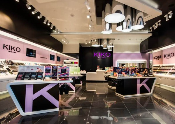 бьюти-магазинах, итальянская марка KIKO MILANO