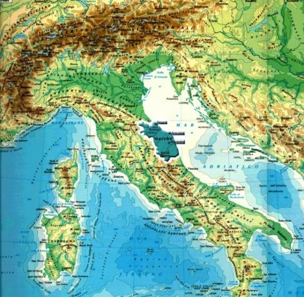 Марке, эта восточная область Италии