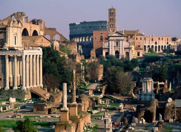 Италию по праву можно считать сокровищницей Древнего Рима