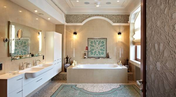 Современные тенденции дизайна итальянских ванных комнат