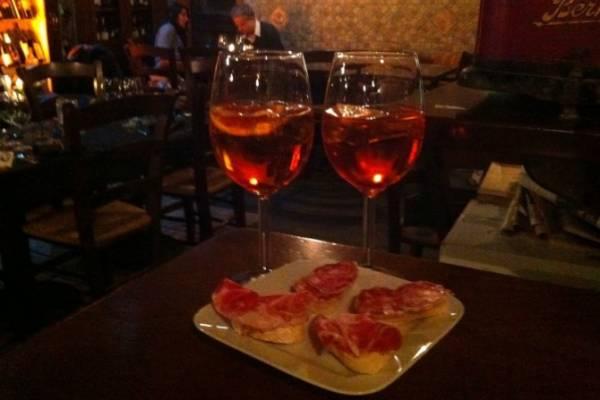 спритц – слабоалкогольный коктейль из Венеции
