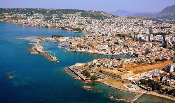 Один из райских уголков Греции – курорт Ханья
