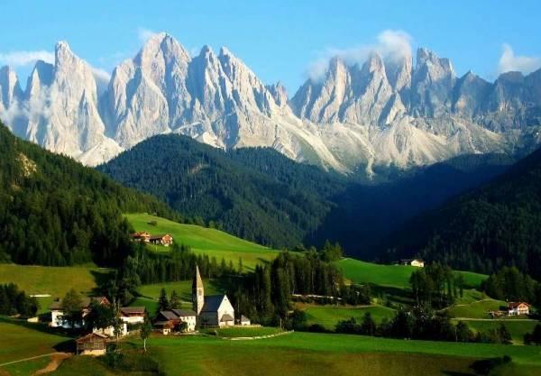 Итальянские «Альпы» – долина Аоста