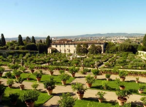 вилл семьи Медичи в Тоскане