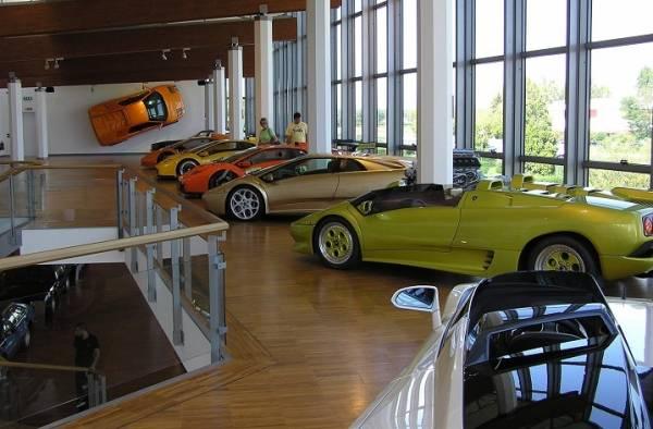 Музеи Ламборджини в Италии