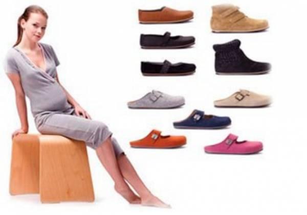 Обувь на высокой платформе или шпильке на период беременности тоже сто