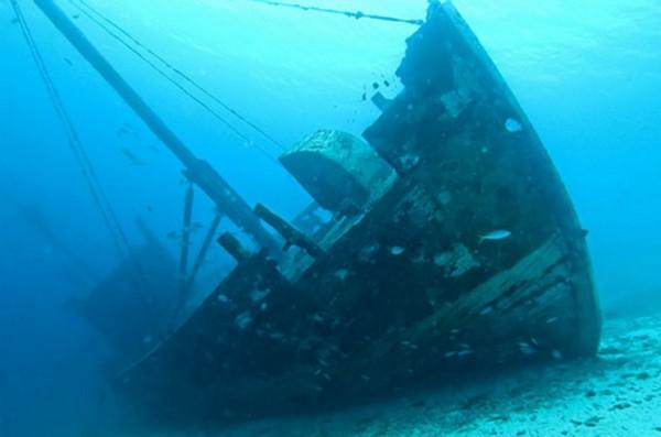 Средиземного моря — это большая могила кораблей