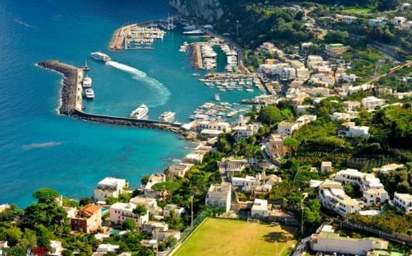 восхититься пейзажами остров Капри