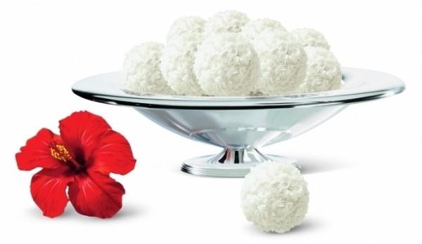 маленькие кремово-кокосовые шарики