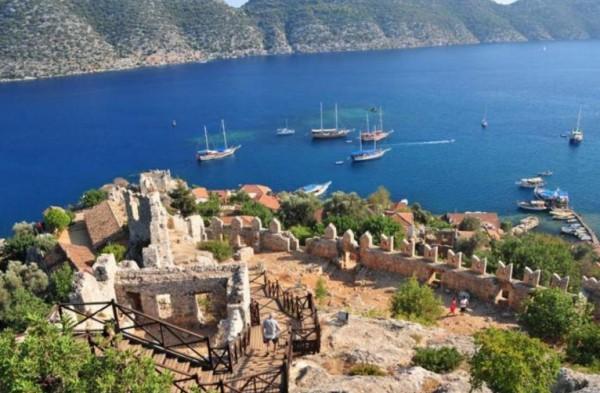 курортах Средиземного моря, Турция