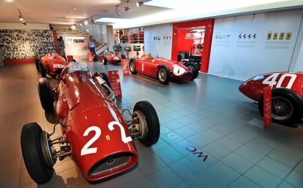 Музеи Феррари в Италии