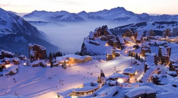 самые большие площадки для катания на лыжах