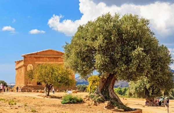 сицилийский Агридженто, это Долина Храмов