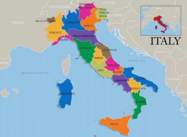 Regiony Italii Podrobnoe Opisanie Oblastej Strany