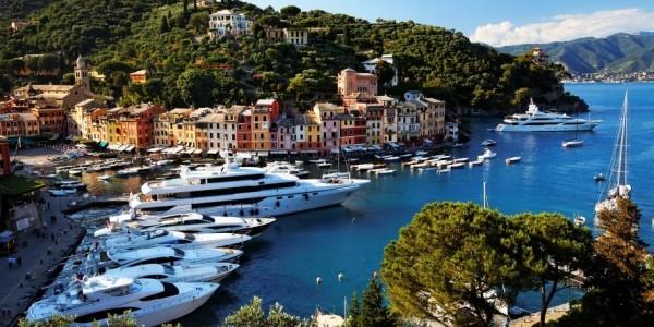 Портофино - элитный туристический городок Италии