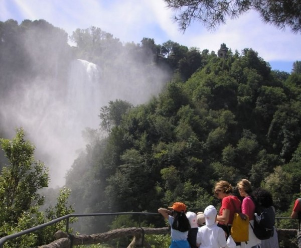 Cascate delle Marmore, Умбрия
