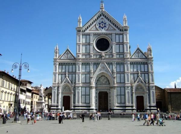 церковь Санта – Кроче, флоренция