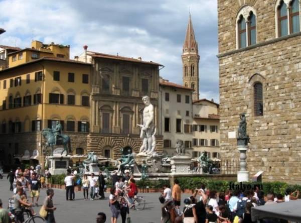 Флоренция застыла в эпохе Возрождения