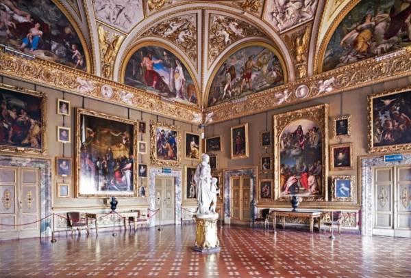 Дворец Питти во Флоренции