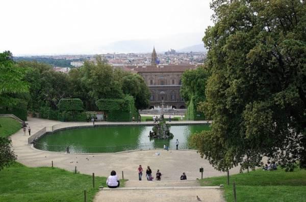 придворный сад Боболе, Флоренция