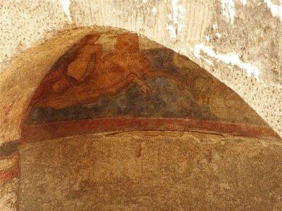 Фрагмент фрески