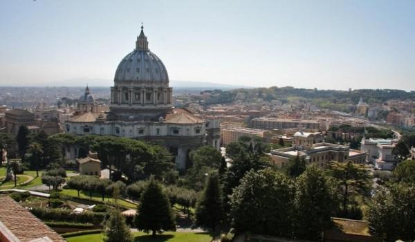 Размеры собора Святого Петра внушительны