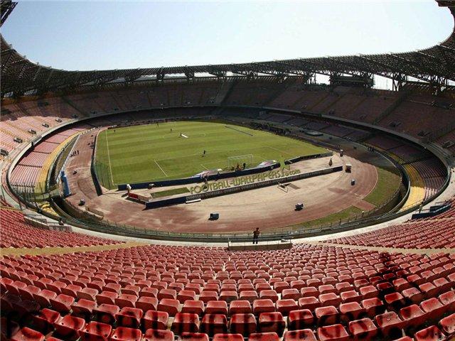 """Неаполь - Стадион: """"Сан-Паоло"""""""