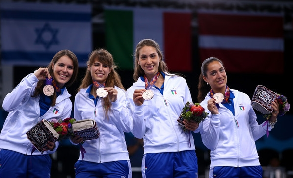 Вот они, очередные призеры Европейских Игр