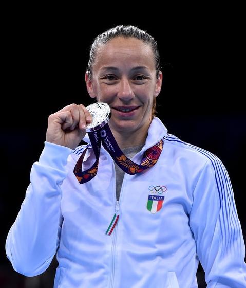 Опытнейшая, 34-летняя, трехкратная чемпионка Европы, уроженка Салерно, региона Кампания Марциа Давиде