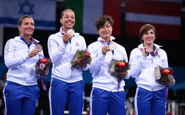 У сборной Италии в копилке уже 10 золотых, 20 серебряных и 9 бронзовых медалей